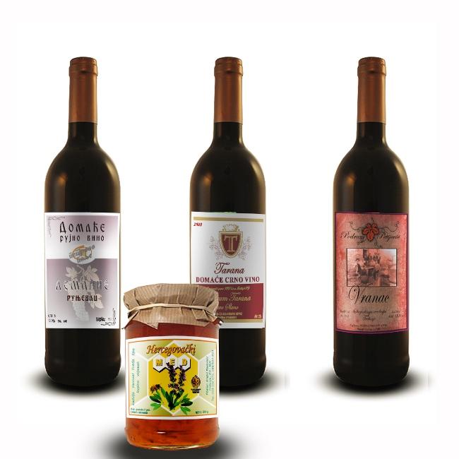 etikete vino