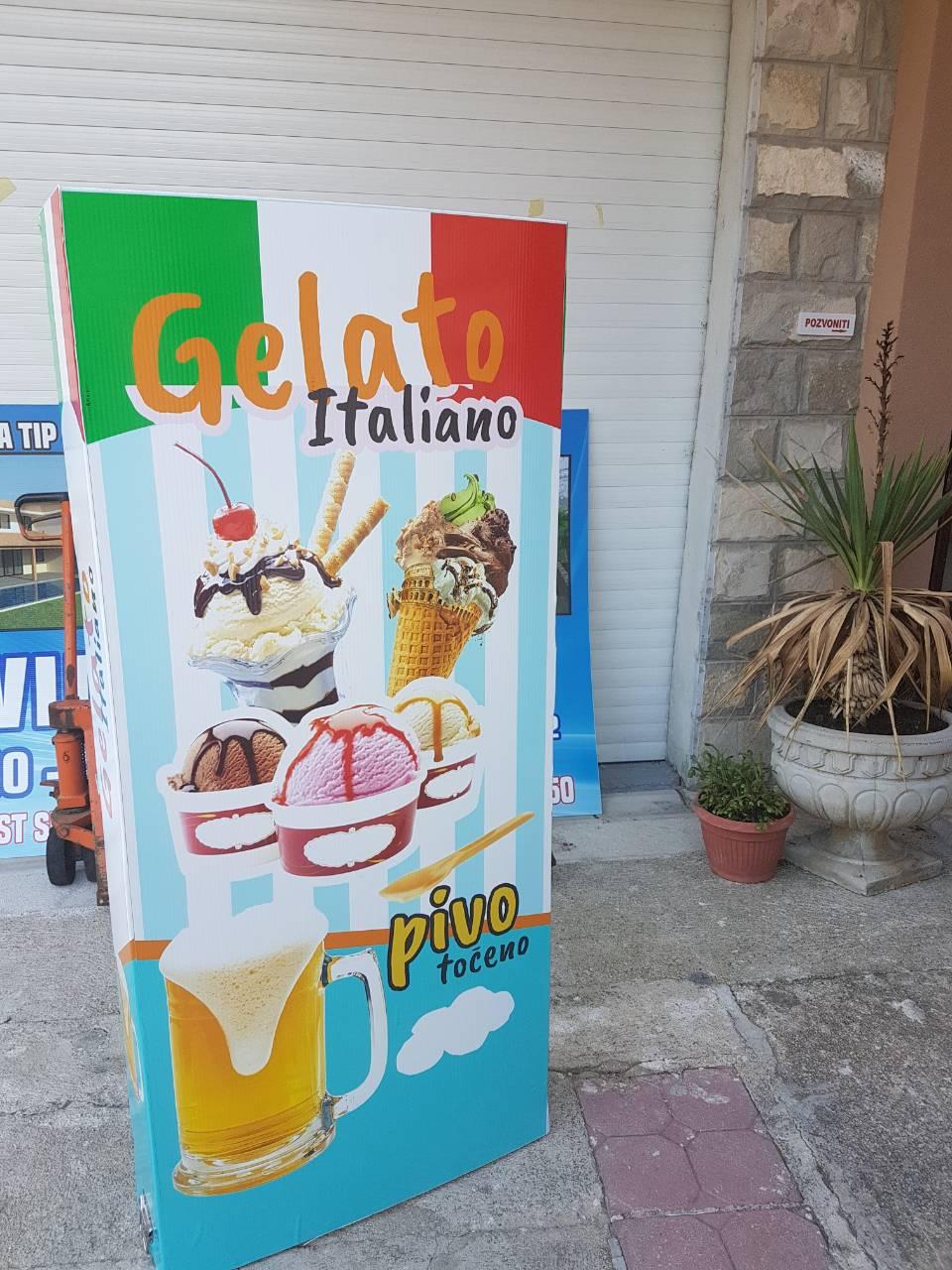 gelato italiano pano